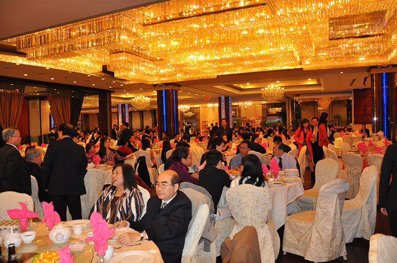 明报华裔创业家晚宴
