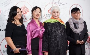 梅麗娜獲邀在第三屆中國電影節和明星一起走紅地毯