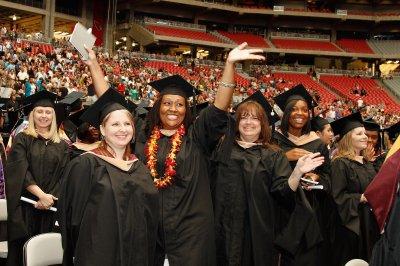 凤凰城大学的毕业典礼