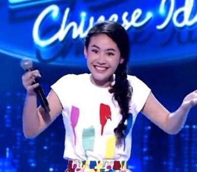 15岁李安梅获得中国梦之声季军,曾获纽约水立方杯比赛冠军