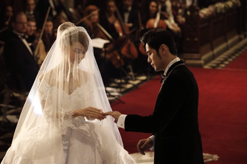 周杰伦昆凌提前一天大婚 婚礼采用基督教仪式