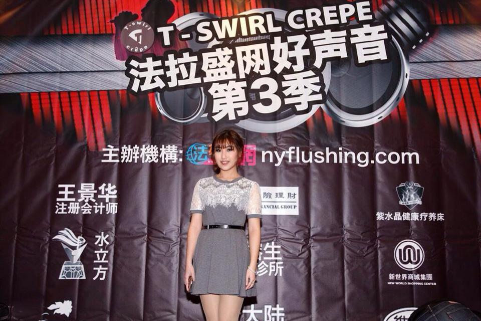 法拉盛网好声音第3季总决赛14号歌手Sunny Wang