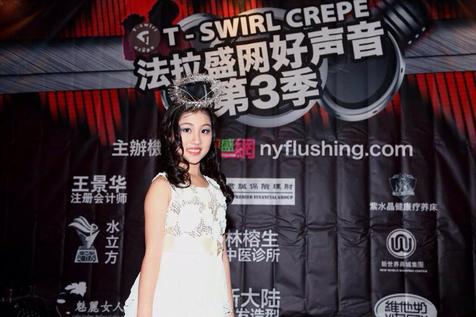 法拉盛网好声音第3季总决赛11号歌手吴霞