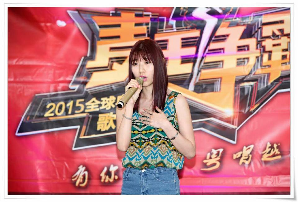 麦王争霸纽约海选总决赛歌手Erica lai