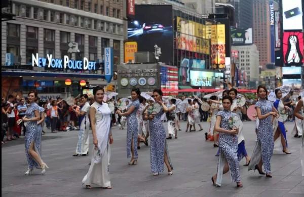 传世的青花   幸福的旗袍