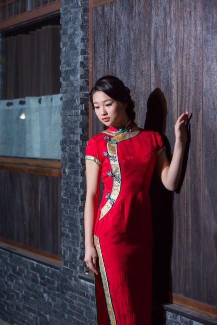 纽约旗袍摄影大赛作品之 红
