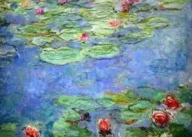 莫奈:他一生二千多幅作品 但他只画一个女人