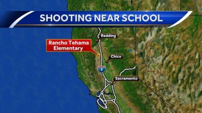 北加州连环抢击致5死7伤 枪手闯小学等地开枪