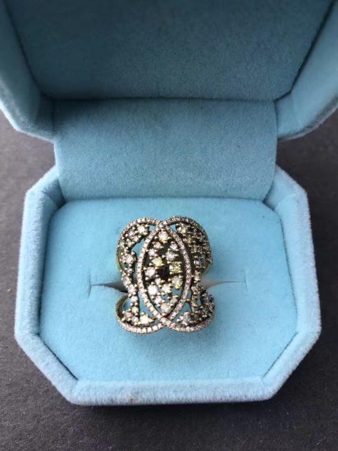纽约珠宝设计师lina Mei 推出《金秋的收获》黄钻系列